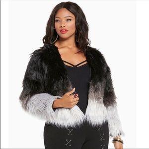 Torrid Empire Faux Fur Ombre Jacket-1